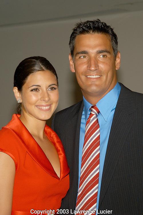 Jamie Lynn Sigler and AJ Discala