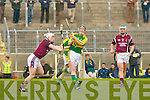 Kerry's John Fitzgerald and Westmeath's Adam Price.