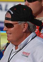 Apr 29, 2007; Talladega, AL, USA; Nascar Nextel Cup Series team owner Rick Hendrick during the Aarons 499 at Talladega Superspeedway. Mandatory Credit: Mark J. Rebilas