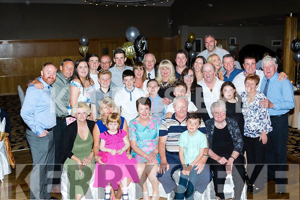 Looking Good<br /> -------------------<br /> Tralee lady Irene O'Donnell, seated centre, had a massive celebration for her 70th birthday last Saturday night in the Ballyroe Heights hotel, Tralee along with many many friends, family and neighbours.