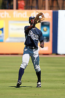 Tampa Bay Rays minor league center fielder Deshun Dixon (66) during an Instructional League game vs. the Minnesota Twins at Charlotte Sports Park in Port Charlotte, Florida;  October 5, 2010.  Photo By Mike Janes/Four Seam Images