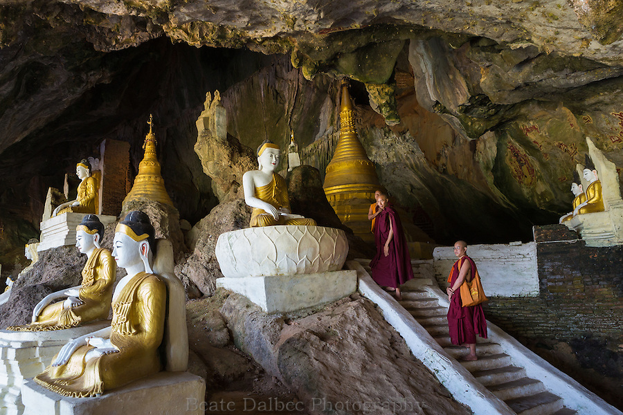 Ya The Byan cave near Hpa An, Myanmar