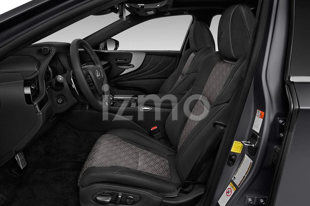 Front seat view of a 2018 Lexus LS 500 F-SPORT 4 Door Sedan front seat car photos