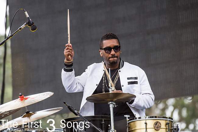 Channing Holmes of Capital Cities performs at the Outside Lands Music & Art Festival at Golden Gate Park in San Francisco, California.