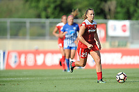 Boyds, MD - Saturday August 12, 2017: Meggie Dougherty Howard during a regular season National Women's Soccer League (NWSL) match between the Washington Spirit and The Boston Breakers at Maureen Hendricks Field, Maryland SoccerPlex.