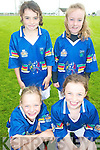 HURLING: At the GAA VHI Cu?l Camp at Kilmoyley GAA Grounds on Thursday last were front, ;-r: Eilish Harrington and Clodagh Walsh. Back, l-r: Louise Walsh and Aoife Godley.   Copyright Kerry's Eye 2008
