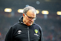 Leeds United manager Marcelo Bielsa<br /> <br /> Photographer Alex Dodd/CameraSport<br /> <br /> The EFL Sky Bet Championship - Aston Villa v Leeds United - Sunday 23rd December 2018 - Villa Park - Birmingham<br /> <br /> World Copyright &copy; 2018 CameraSport. All rights reserved. 43 Linden Ave. Countesthorpe. Leicester. England. LE8 5PG - Tel: +44 (0) 116 277 4147 - admin@camerasport.com - www.camerasport.com