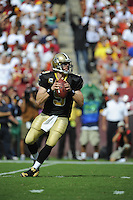 14 September 2008:  Drew Brees (9)..The Washington Redskins defeated the New Orleans Saints 29-24 at FedEx Field in Landover, MD.