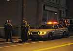 Stabbing on Union Street in front of the Smoke Shop and a second crime scene of Ward street, Friday, April 20, 2012, in the Rockville section of Vernon. (Jim Michaud/CTNewsAlert)