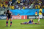 Atsuto Uchida (JPN), <br /> JUNE 24, 2014 - Football /Soccer : <br /> 2014 FIFA World Cup Brazil <br /> Group Match -Group C- <br /> between Japan 1-4 Colombia <br /> at Arena Pantanal, Cuiaba, Brazil. <br /> (Photo by YUTAKA/AFLO SPORT)