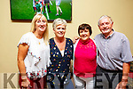 Maggie Hayes, Bridie Chute, Mary and Dan Keane attending the fundraiser for the young musicians of the Ballybunion CCE in the Hibernian Ballybunion on Sunday.