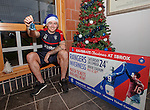 Lee Hodson promoting Christmas Eve at Ibrox for Rangers v Inverness