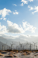 Wind turbines in Palm Springs, CA. Images are available for editorial licensing, either directly or through Gallery Stock. Some images are available for commercial licensing. Please contact lisa@lisacorsonphotography.com for more information.