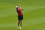 CHON BURI, THAILAND - FEBRUARY 17:  Stacy Lewis of USA plays a shoot on the 17th hole during day two of the LPGA Thailand at Siam Country Club on February 17, 2012 in Chon Buri, Thailand.  Photo by Victor Fraile / The Power of Sport Images