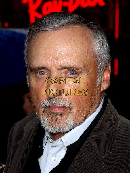 DENNIS HOPPER  .The World Premiere of Hidalgo held at The El Capitan Theatre in Hollywood, California .01 March 2004.*UK Sales Only*.portrait, headshot, beard.www.capitalpictures.com.sales@capitalpictures.com.©Capital Pictures.
