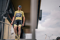 Chris Froome (GBR/SKY) at the last stage start of the 104th Tour de France 2017 in Montgeron<br /> <br /> Stage 21 - Montgeron › Paris (105km)