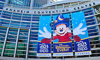 Disney Expo at the Anaheim Convention Center