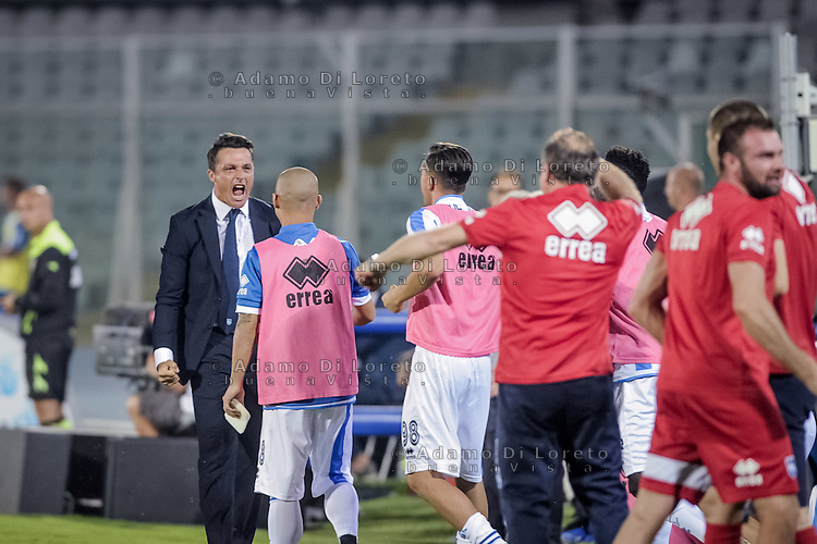 Massimo Oddo (Pescara) after the second Goal during the Italian Serie A football match Pescara vs SSC Napoli on August 21, 2016, in Pescara, Italy. Photo by Adamo Di Loreto