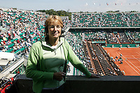 2-6-06,France, Paris, Tennis , Roland Garros, Marcella Mesker
