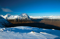 Buachaille Etive Mor from the Munro of Meall a' Bhuiridh, Highland