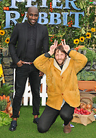 Vauxhall Jermaine and Tommy Greaves at the &quot;Peter Rabbit&quot; UK gala premiere, Vue West End cinema, Leicester Square, London, England, UK, on Sunday 11 March 2018.<br /> CAP/CAN<br /> &copy;CAN/Capital Pictures