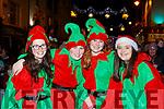 Saoirse Casey, Brendan Casey, Shenice Good and Roisin Chambers at the Kiilarney Christmas parade on Saturday night
