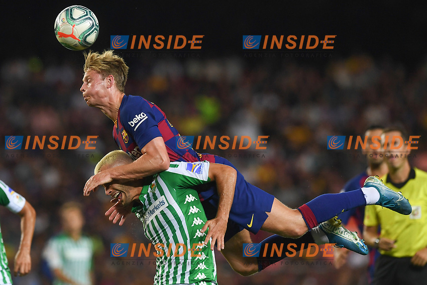 FOOTBALL: FC Barcelone vs Real Betis - La Liga-25/08/2019<br /> De Jong (FCB)