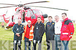 Members of the Ballybunion sea and cliff rescue and Irish coast Guard staff  involved in the Chernobyl children's fundraising event in Ballybunion on Sunday pictured l-r are Cliff Pile (Shannon Helicopter),John Walsh,(irish Coast Guard, Tony O.Mahony, (Shannon Helicopter), Mick Tracy (Shannon Helicopter), Frank O' Connor, Ballybunion Sea and cliff rescue.and Paul O'Connor, Ballybunion Sea and Cliff rescue..   Copyright Kerry's Eye 2008