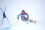 09 MAR 2016:  Sebastian Brigovic (17) of the University of Denver competes in the giant slalom during the NCAA Division I Men's and Women's Skiing Championships take place at the Steamboat Ski Resort in Steamboat Springs, CO.  Jamie Schwaberow/NCAA Photos