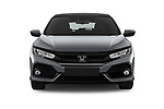 Car photography straight front view of a 2017 Honda Civic Executive 5 Door Hatchback Front View