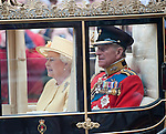 Royal Wedding 29.4.11.Queen and Duke of Edinburgh ...Picture by Gavin Rodgers/ Pixel 8000 ..07917221968