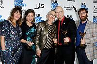 LOS ANGELES - FEB 8:  Lindsay Utz, Julie Parker Benello, Julia Reichert, Steven Bognar, Jeff Reichert at the 2020 Film Independent Spirit Awards at the Beach on February 8, 2020 in Santa Monica, CA