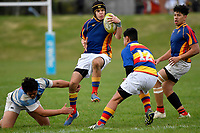 College Rugby Preseason - St. Patrick's College, Silverstream II v Kapiti College at St. Patrick's College, Silverstream, Upper Hutt, New Zealand on Saturday 13 June 2020. <br /> Photo by Masanori Udagawa. <br /> www.photowellington.photoshelter.com