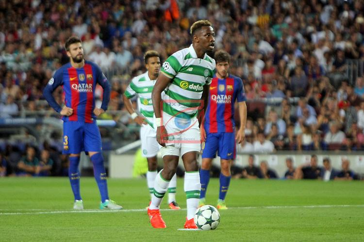 UEFA Champions League 2016/2017 - Matchday 1.<br /> FC Barcelona vs Celtic FC: 7-0.<br /> Moussa Dembele.