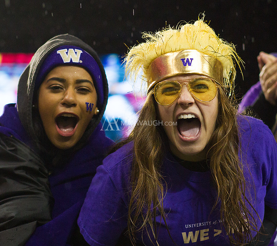 Husky fans revel in another Apple Cup blowout at Husky Stadium.