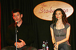 All My Children - Aiden Turner and Alicia Minshew perform on stage for their fans on November 22, 2008 with photos, meet and greet and Q and A at the Brokerage Comedy Club and Vaudeville Cafe in Bellmore, New York. (Photo by Sue Coflin/Max Photos).
