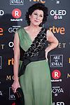 Montse Alcocer attends red carpet of Goya Cinema Awards 2018 at Madrid Marriott Auditorium in Madrid , Spain. February 03, 2018. (ALTERPHOTOS/Borja B.Hojas)