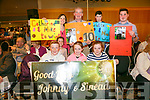 Enjoying   the Churchill GAA Strictly Come Dancing in the Ballyroe Heights Hotel on Sunday were Dara Clifford, Sharon Enwright, Shauna Clifford, Blathnaid Murphy, Joanna Murphy, Tim Walsh, Tadhg Murphy and Michael Walsh, supporting Johnny and Sinead and Catherine and mike