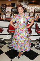 "Cheryl Baker at the photocall for ""Happy Days The Musical"" at Ed's Easy Diner, Trocadero, London. 08/01/2014 Picture by: Steve Vas / Featureflash"