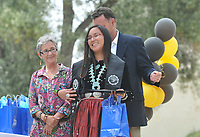 (Photo by John Valenzuela, Freelance)<br /> <br /> Latinx Graduation Celebration at the Thorne Lawn/Patio, May 19, 2018.<br /> <br /> Cultural Graduation Celebrations are an opportunity for smaller groups to come together and acknowledge students' accomplishments with family and friends while celebrating the rich diversity of our campus. The Office of Intercultural Affairs partners with cultural organizations to coordinate the events.<br /> <br /> (Photo by John Valenzuela, Freelance)