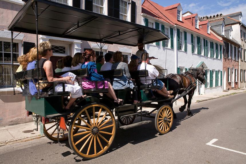 horse drawen carriage charleston south carolina