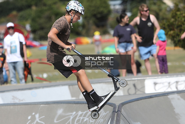 NELSON, NEW ZEALAND - JANUARY 18: Tasman Skate Park Tour Saturday18 January  2020 , New Zealand. (Photo byEvan Barnes/ Shuttersport Limited)