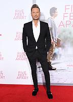"07 March 2019 - Westwood, California - Brian Tyler. ""Five Feet Apart"" Los Angeles Premiere held at the Fox Bruin Theatre. Photo Credit: Birdie Thompson/AdMedia"
