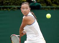 29-6-06,England, London, Wimbledon, second round match,  Miss M. Peng