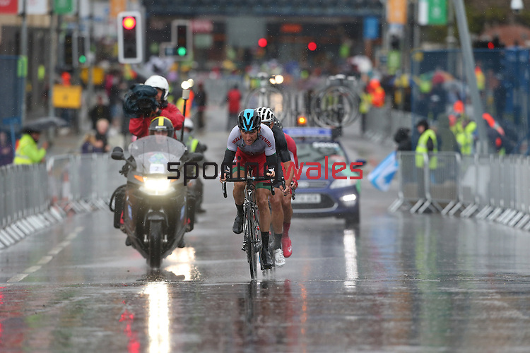Glasgow 2014 Commonwealth Games<br /> Mens Road Race<br /> Geraint Thomas<br /> 03.08.14<br /> ©Steve Pope-SPORTINGWALES