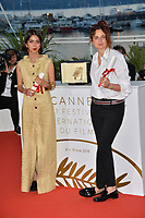 Alice Rohrwacher &amp; daughter of Jafar Panahi Solmaz Panahi at the photocall for &quot;Award Winners&quot; at the 71st Festival de Cannes, Cannes, France 19 May 2018<br /> Picture: Paul Smith/Featureflash/SilverHub 0208 004 5359 sales@silverhubmedia.com