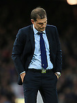 West Ham's Slaven Bilic looks on dejected<br /> <br /> Barclays Premier League - West Ham United v Stoke City - Upton Park - England -12th December 2015 - Picture David Klein/Sportimage