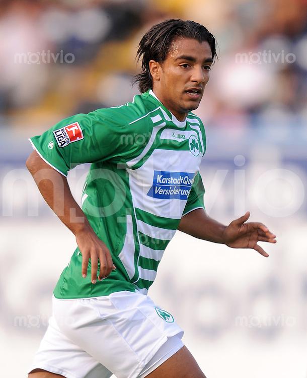 2. Fussball Bundesliga :  Saison   2009/2010   14.08..2009 SpVgg Greuther Fuerth - FSV Frankfurt Sami Allagui  (Fuerth)