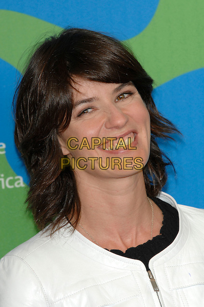 "IRENE JACOB.""Nessuna Qualita Agli Eroi "" photocall at the 64th Venice Film Festival (La Biennale di Venezia), Venice, Italy..August 31st, 2007.headshot portrait .Ref: CAP/PL.©Phil Loftus/Capital Pictures"