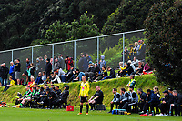 Action from the A-league and ISPS Handa Premiership football preseason match between Wellington Phoenix and Team Wellington at Martin Luckie Park in Wellington, New Zealand on Saturday, 30 September 2017. Photo: Dave Lintott / lintottphoto.co.nz
